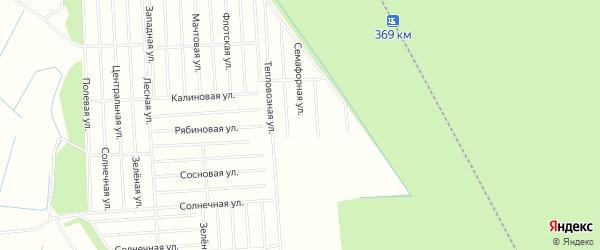 Карта садового некоммерческого товарищества СОТА Дружбы в Архангельской области с улицами и номерами домов
