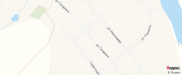 Улица Гагарина на карте села Иваньково-ленина с номерами домов