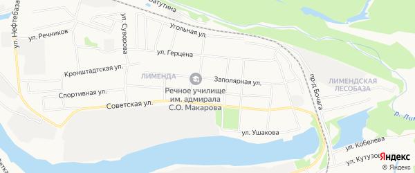 ГСК N18 на карте Спортивной улицы с номерами домов
