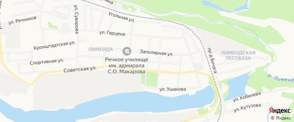 ГСК N33 на карте Заводской улицы с номерами домов