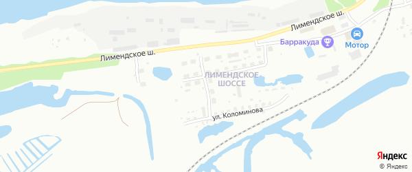 Улица Лесников на карте Котласа с номерами домов