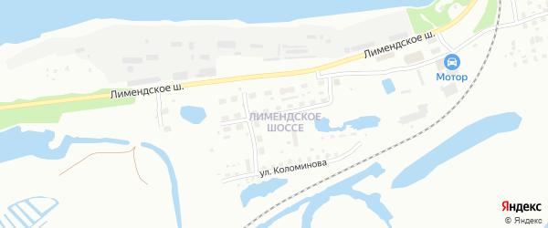 Пролетарская улица на карте Котласа с номерами домов