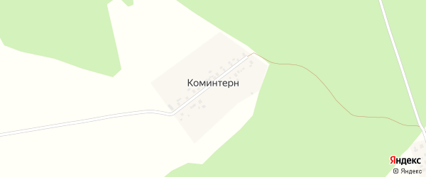 Улица Коминтерна на карте выселков Коминтерна с номерами домов