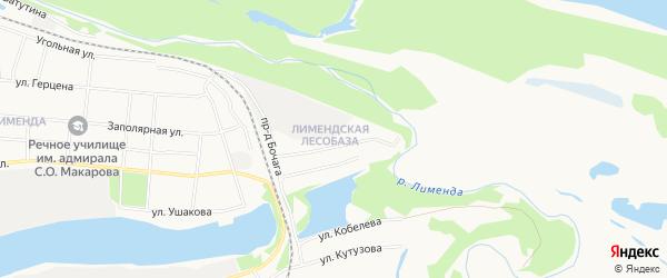 ГСК N83 на карте улицы Вяткина с номерами домов