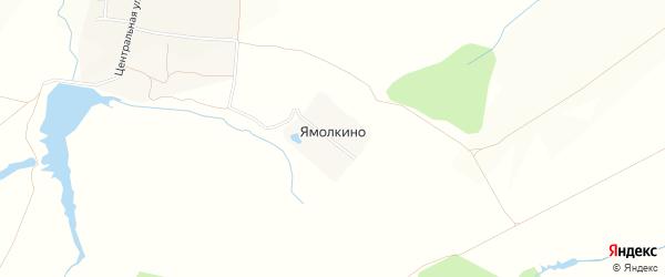 Карта деревни Ямолкино в Чувашии с улицами и номерами домов