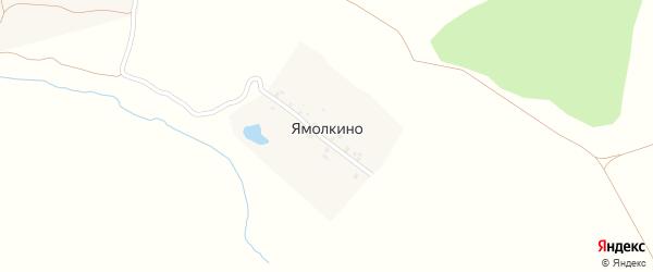 Центральная улица на карте деревни Ямолкино с номерами домов