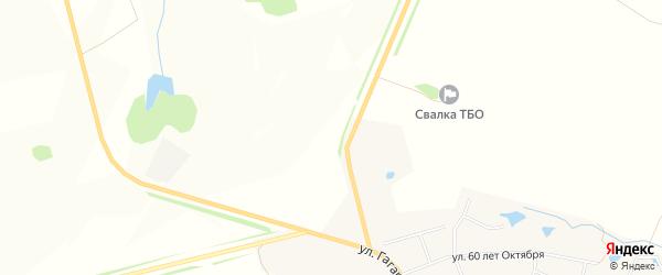 Карта деревни Прошкино в Чувашии с улицами и номерами домов