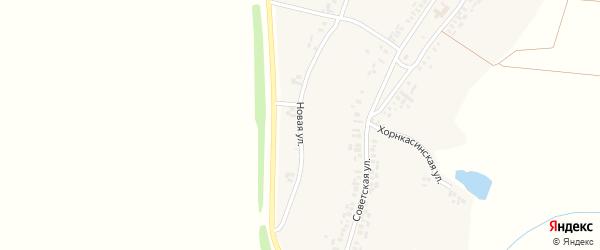 Новая улица на карте деревни Вурманкасы (Юськасинское с/п) с номерами домов