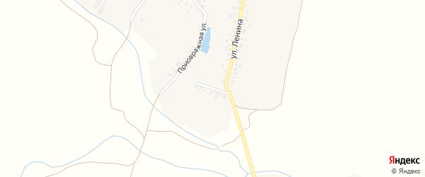 Прифермская улица на карте деревни Азима-Сирмы с номерами домов