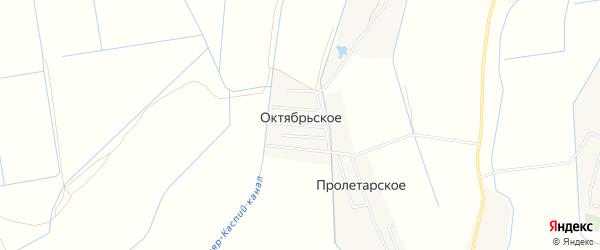 Карта Октябрьского села в Дагестане с улицами и номерами домов