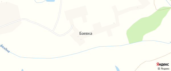 Улица Кирова на карте поселка Баевки с номерами домов