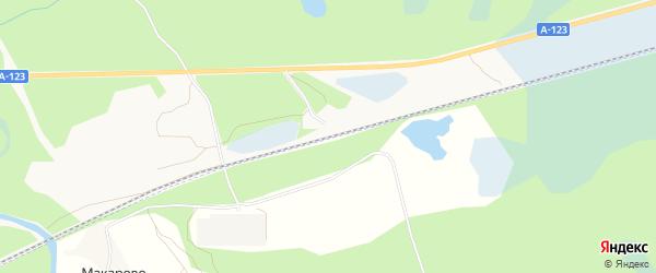 Карта станции Лименды города Котласа в Архангельской области с улицами и номерами домов