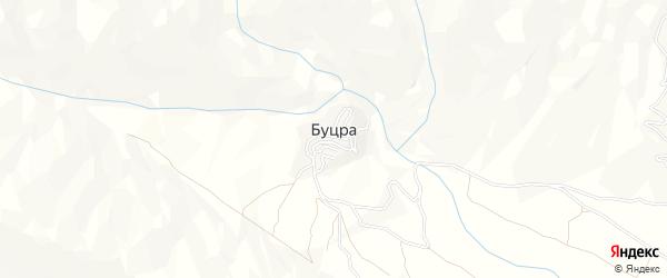 Карта села Буцра в Дагестане с улицами и номерами домов