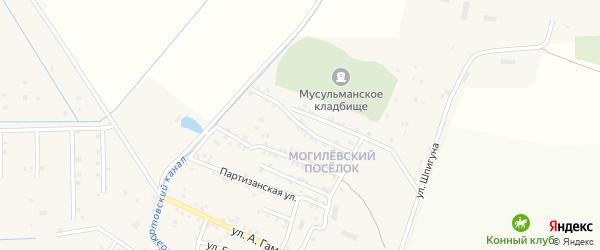 Северная улица на карте села Бабаюрта с номерами домов