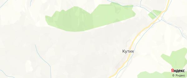 Карта села Цадаха в Дагестане с улицами и номерами домов