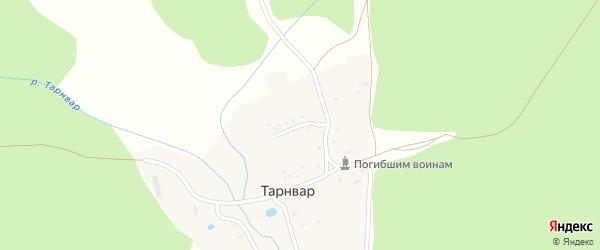 Улица Калинина на карте поселка Тарнвара с номерами домов