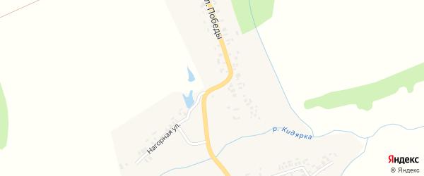 Улица Победы на карте деревни Сятракасы (Сятракасинское с/п) с номерами домов