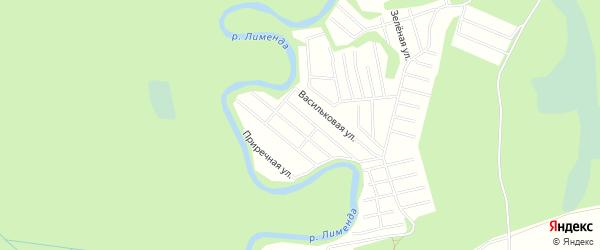 Карта поселка СОТА Восхода-1 в Архангельской области с улицами и номерами домов