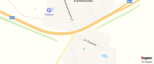 Километр 611 500 м справа на карте автодороги Придорожной полосы дороги М-7 Волги с номерами домов