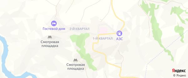 Карта поселка Дубки в Дагестане с улицами и номерами домов