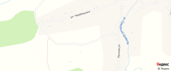 Учительская улица на карте деревни Вурманкасы с номерами домов