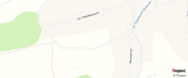 Улица Черемушки на карте деревни Вурманкасы с номерами домов