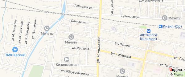 Улица СУ-900 на карте Кизилюрта с номерами домов