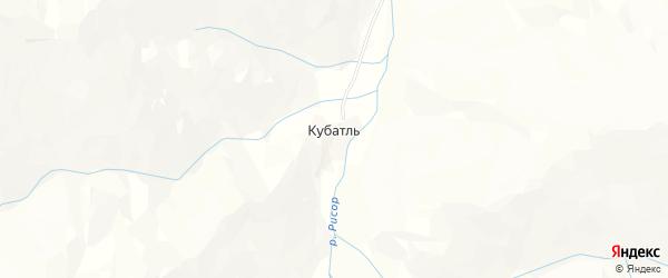 Карта села Кубатля в Дагестане с улицами и номерами домов