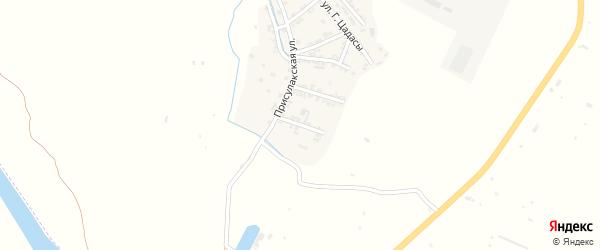 Комсомольская улица на карте села Нижнего Чирюрта с номерами домов