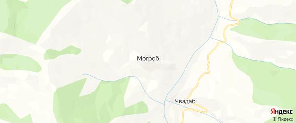 Карта села Могроба в Дагестане с улицами и номерами домов