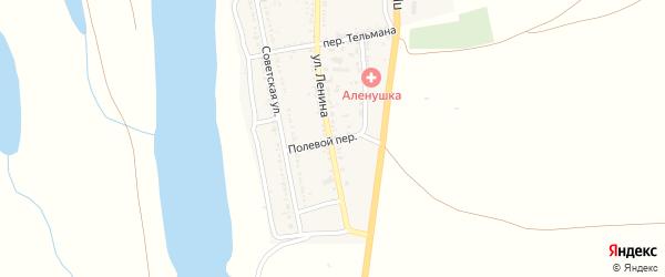 Полевой переулок на карте села Михайловки с номерами домов