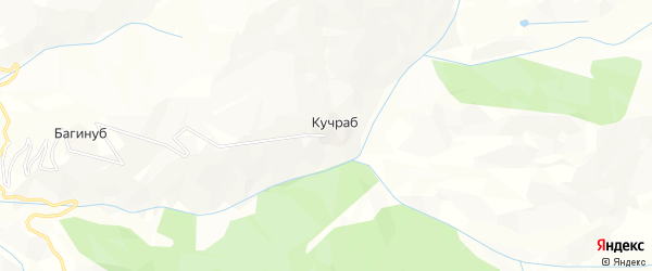 Карта села Кучраба в Дагестане с улицами и номерами домов