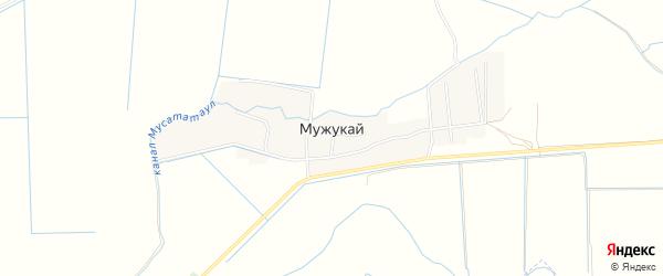 Карта села Мужукая в Дагестане с улицами и номерами домов