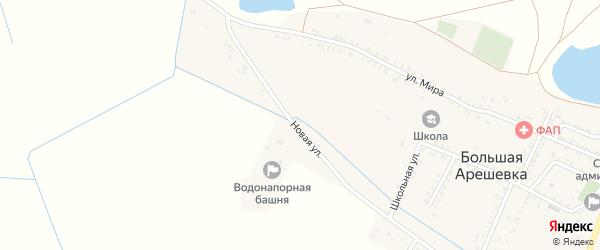 Новая улица на карте Садового поселка с номерами домов