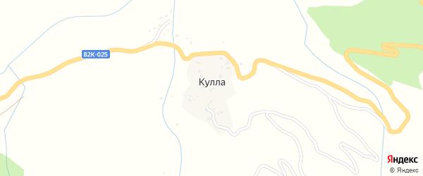 Куллабская улица на карте села Куллы с номерами домов