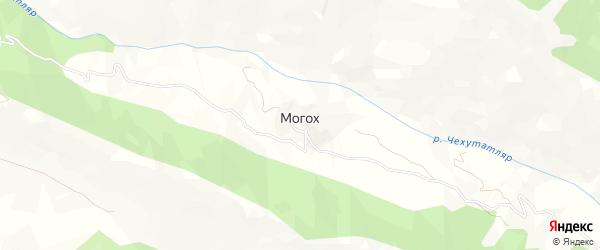 Карта села Могоха в Дагестане с улицами и номерами домов
