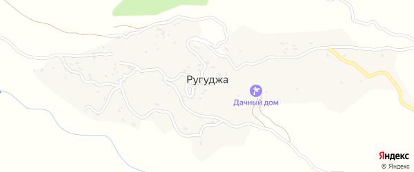 Ругуджинская улица на карте села Ругуджи с номерами домов
