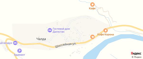 Улица Г.Цадасы на карте села Чалды с номерами домов