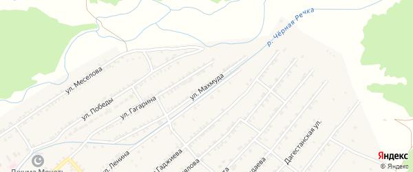 Улица Махмуда на карте села Нечаевки с номерами домов