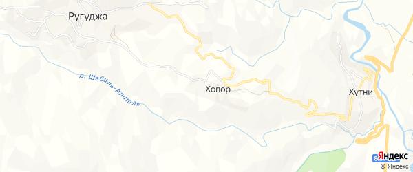 Карта хутора Щубады в Дагестане с улицами и номерами домов