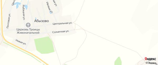 СТ Заря на карте Вурнарского района с номерами домов
