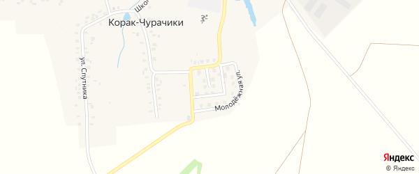 Молодежная улица на карте деревни Корака-Чурачики с номерами домов