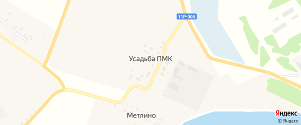 Территория Усадьба ПМК-11 на карте Сольвычегодска с номерами домов