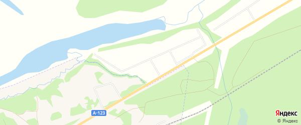 Карта садового некоммерческого товарищества СОТА Железнодорожника-1 в Архангельской области с улицами и номерами домов