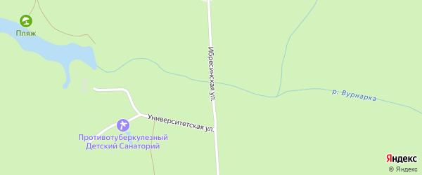 Ибресинская улица на карте поселка Вурнары с номерами домов