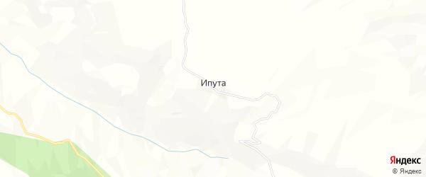 Карта села Ипуты в Дагестане с улицами и номерами домов