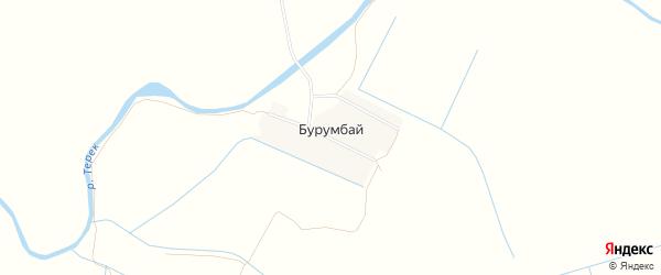 Карта села Бурумбая в Дагестане с улицами и номерами домов