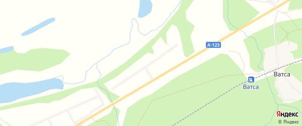 Карта садового некоммерческого товарищества СОТА Железнодорожника-2 в Архангельской области с улицами и номерами домов
