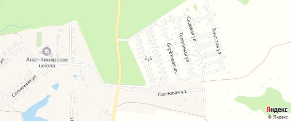 Сиреневая улица на карте деревни Малого Сундыря с номерами домов