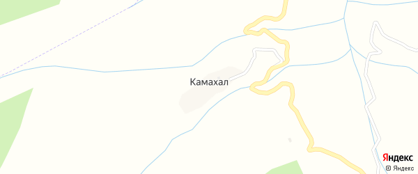 Улица Зилухалу на карте села Камахала с номерами домов